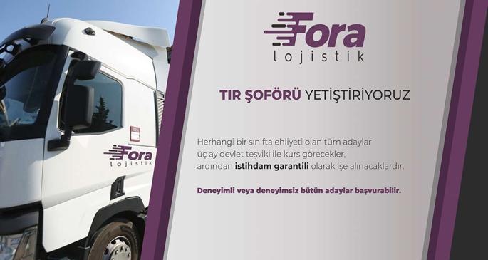 Fora Lojistik - Görsel-1 (Tır Şoförü)